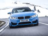 BMW M3 UK-spec (F80) 2014 photos