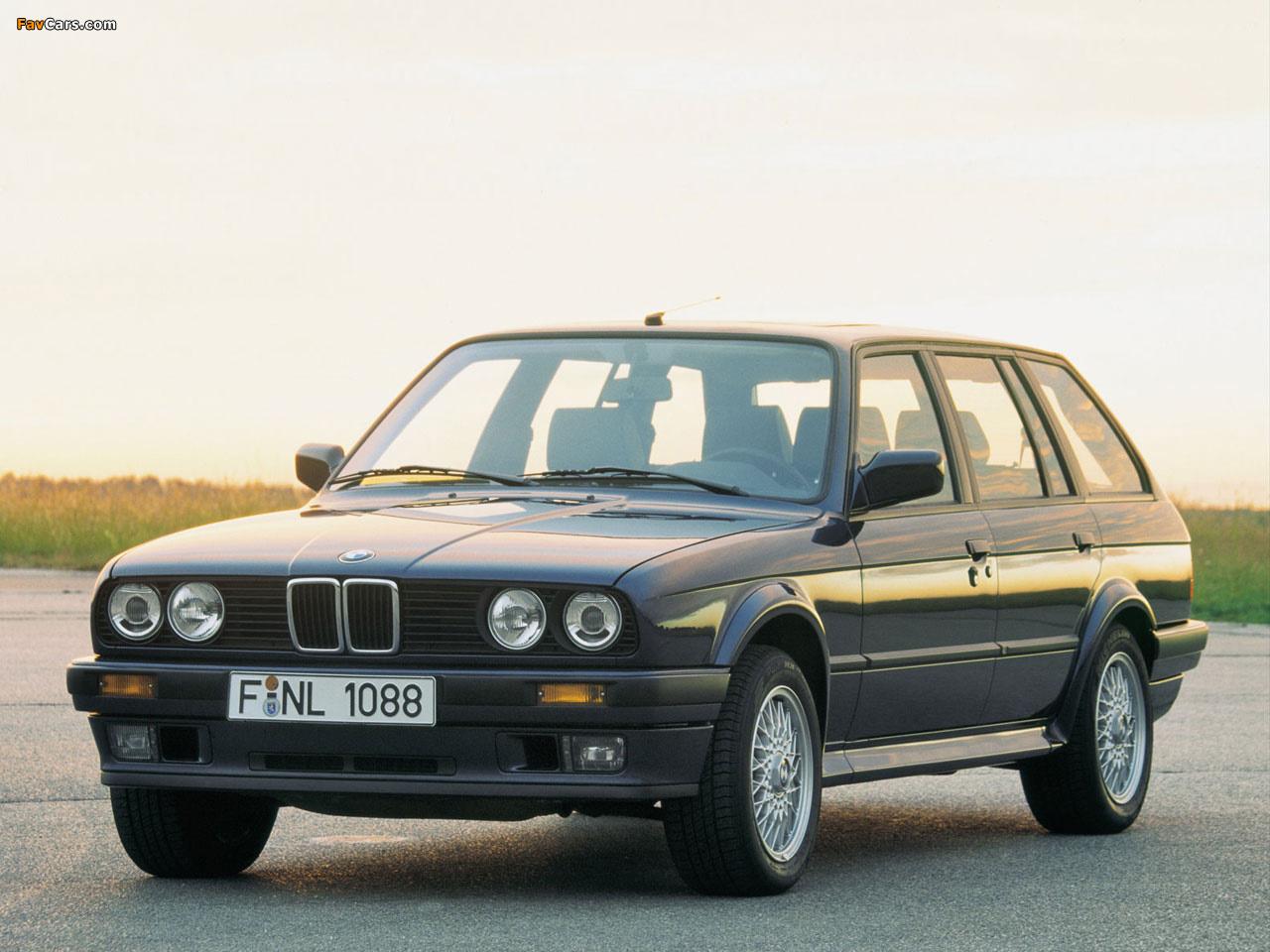 Bmw 325ix Touring E30