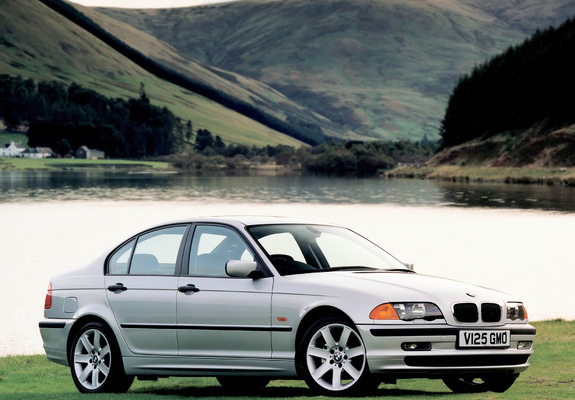 bmw 320d sedan uk spec e46 1998 2001 wallpapers. Black Bedroom Furniture Sets. Home Design Ideas