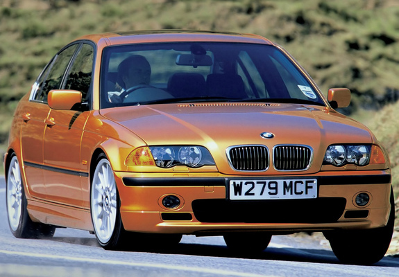 bmw 330d se sedan uk spec e46 1999 2001 wallpapers. Black Bedroom Furniture Sets. Home Design Ideas