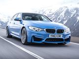 Images of BMW M3 UK-spec (F80) 2014