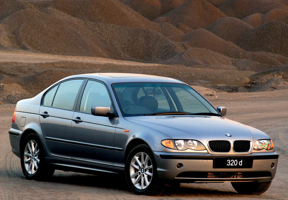 photos of bmw 320d sedan za spec e46 2001 05. Black Bedroom Furniture Sets. Home Design Ideas