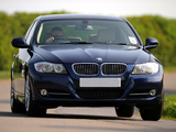 Pictures of BMW 320d Sedan UK-spec (E90) 2008–11
