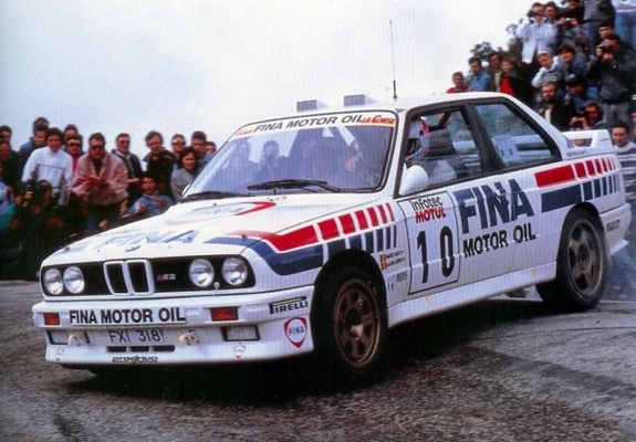 Wallpapers Of Bmw M3 Group A Rally E30 1987 90