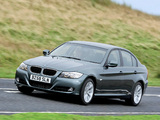 BMW 320d Sedan UK-spec (E90) 2008–11 wallpapers