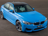 BMW M3 AU-spec (F80) 2014 wallpapers