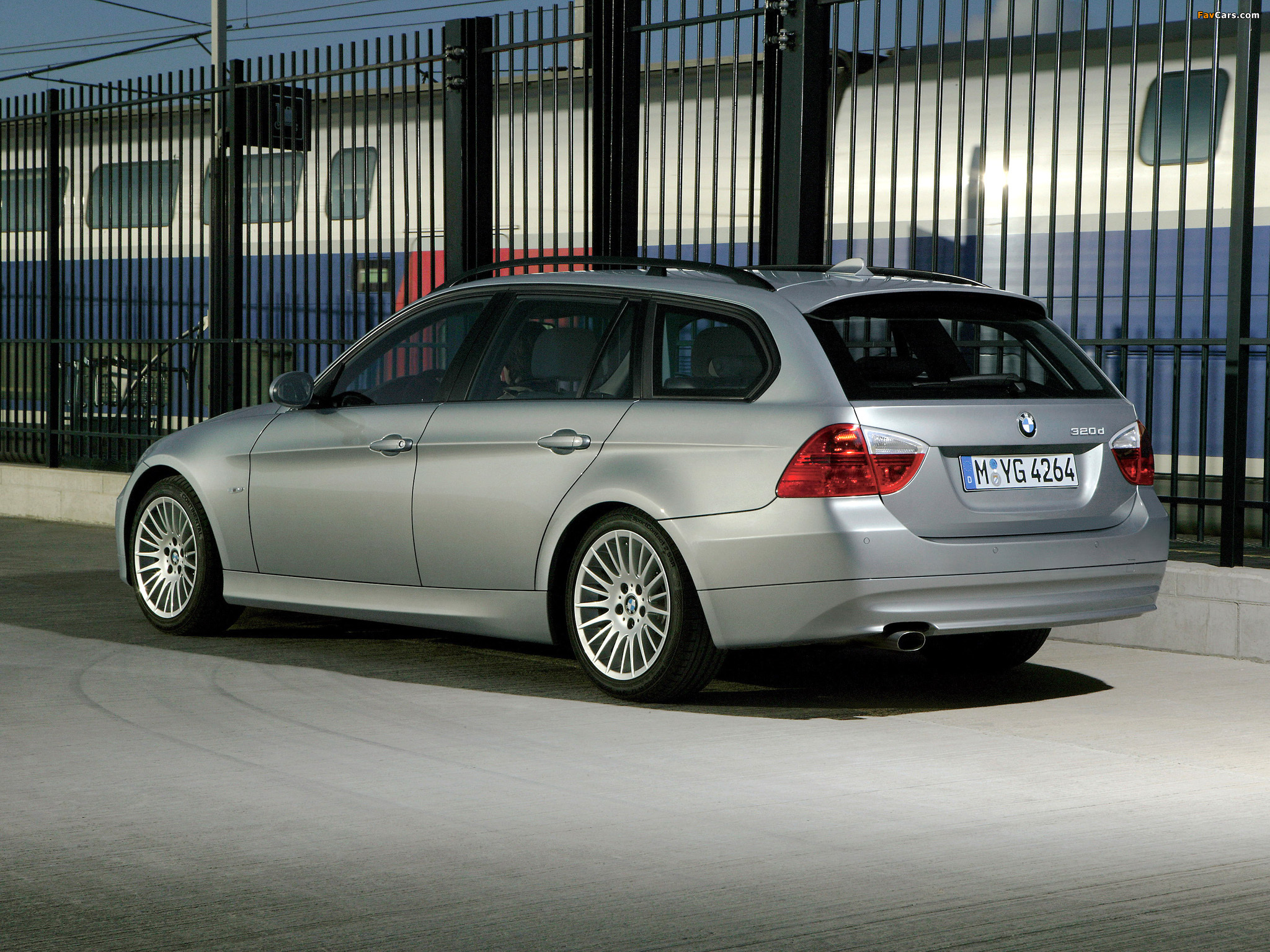 Wallpapers Of Bmw 320d Touring E91 2006 08 2048x1536