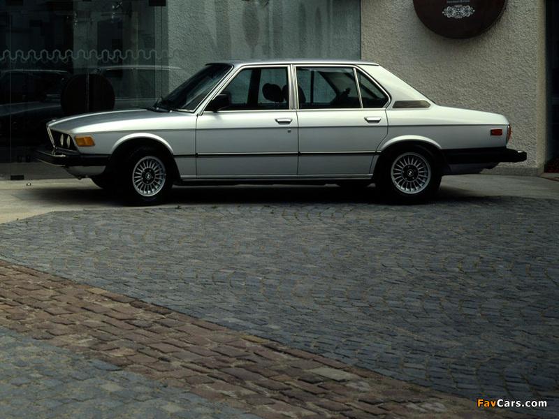 Bmw 528i Sedan Us Spec E12 1978 81 Pictures 800 X 600