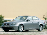 BMW 530i Sedan (E60) 2007–10 photos