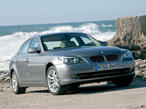BMW 530i Sedan (E60) 2007–10 wallpapers