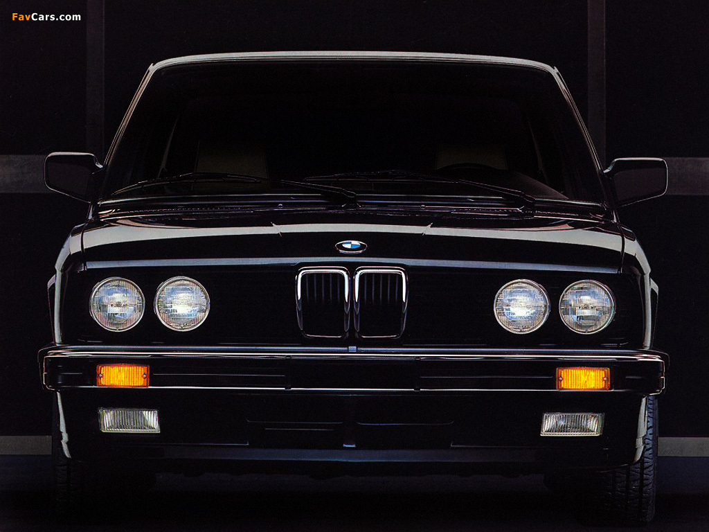 Bmw 5 Series Sedan Us Spec E28 1982 88 Wallpapers 1024x768