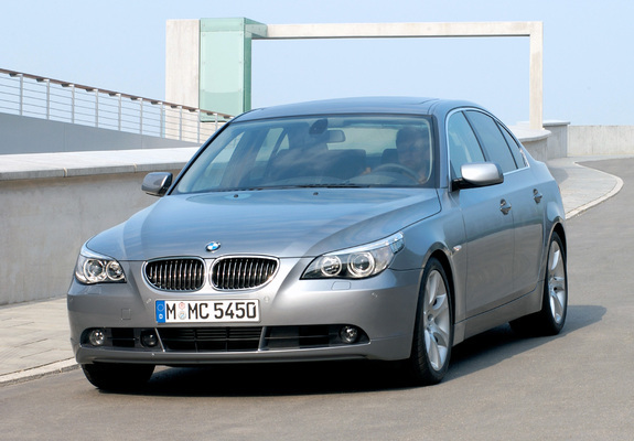 photos of bmw 545i sedan e60 2003 05. Black Bedroom Furniture Sets. Home Design Ideas