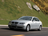 Photos of BMW 530Li (E60) 2006–10