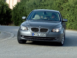 Photos of BMW 530i Sedan (E60) 2007–10