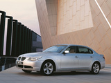 Pictures of BMW 530Li (E60) 2006–10