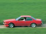 BMW M635CSi (E24) 1984–88 photos