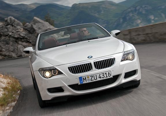 Download / Preview - BMW M6 Cabrio (E64) 2007–10 pictures
