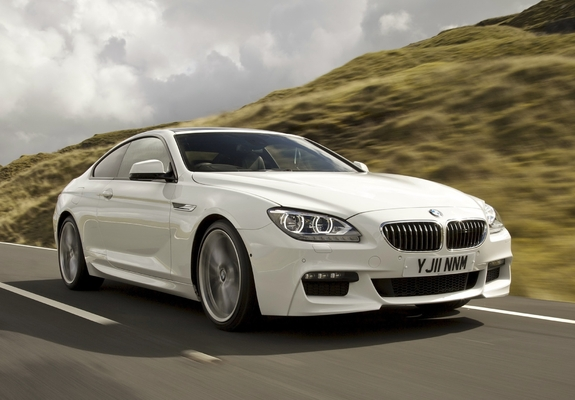 ... Preview - BMW 640d Coupe M Sport Package UK-spec (F12) 2011 wallpapers