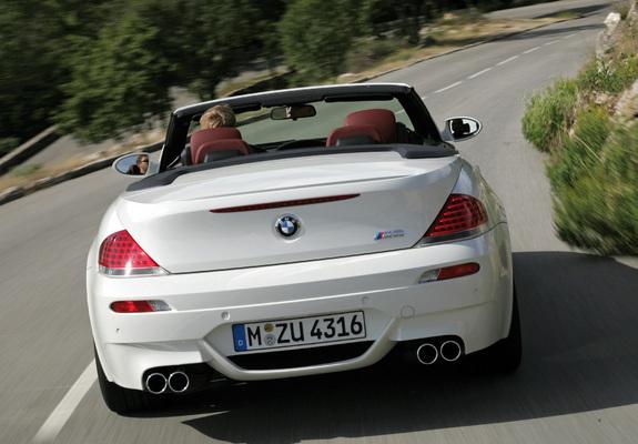 Download / Preview - Photos of BMW M6 Cabrio (E64) 2007–10