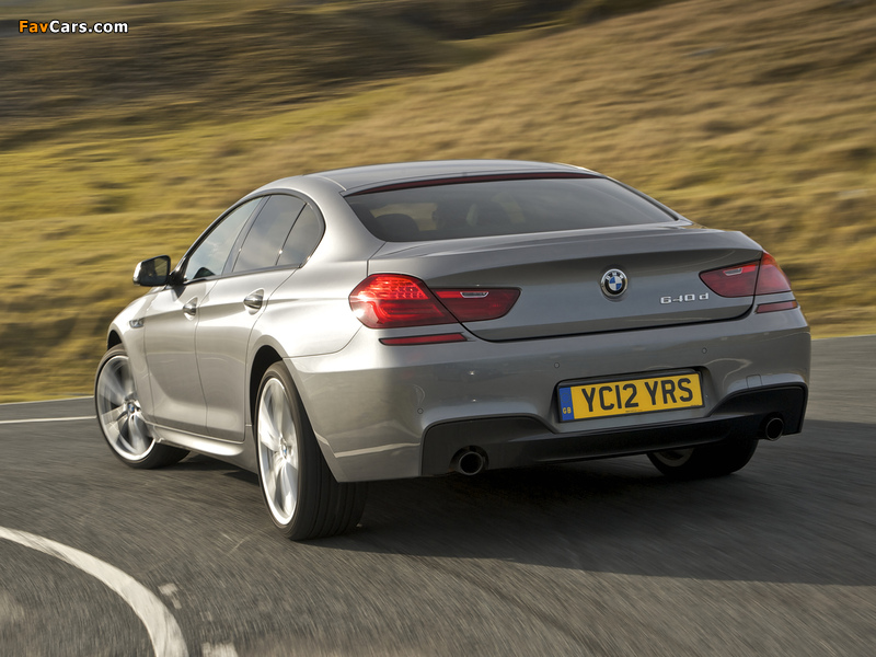 Wallpapers Of Bmw 640d Gran Coupe M Sport Package Uk Spec