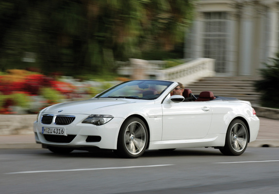 Download / Preview - Wallpapers of BMW M6 Cabrio (E64) 2007–10
