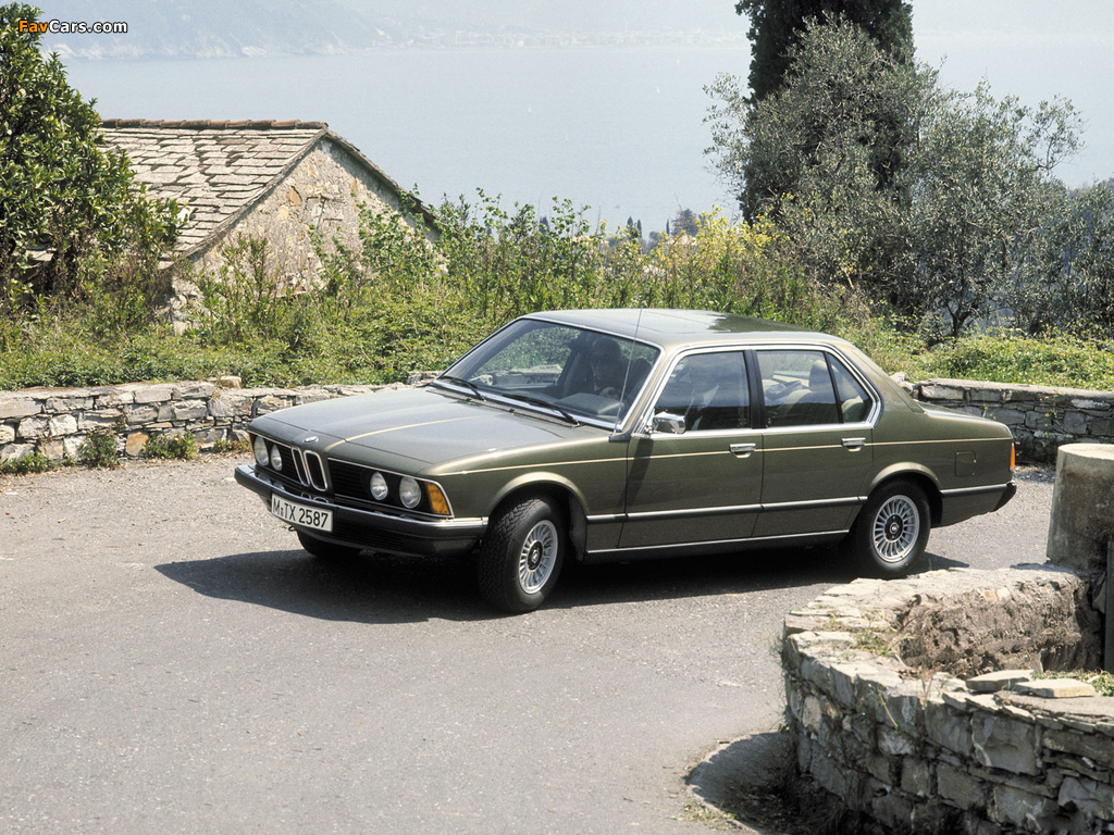 BMW 733i (E23) 1977–79 wallpapers (1024x768)
