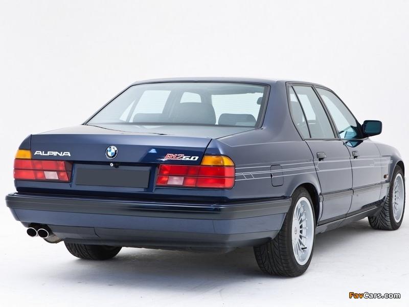 Bmw X Series >> Alpina B12 5.0 UK-spec (E32) 1988–94 photos (800x600)