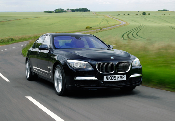... / Preview - BMW 740d M Sports Package UK-spec (F01) 2009 wallpapers