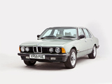 BMW 735i UK-spec (E23) 1982–86 wallpapers