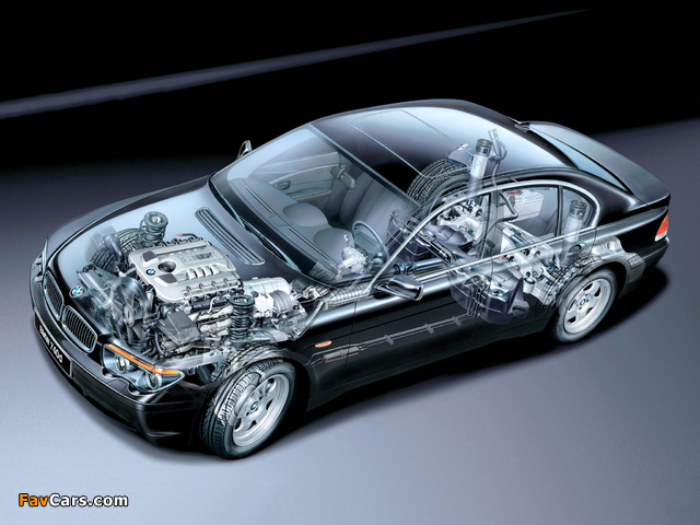 Wallpapers Of Bmw 740d E65 2002 05 640x480