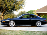 BMW 850 CSi US-spec (E31) 1993–95 photos