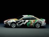 BMW 850 CSi Art Car by David Hockney (E31) 1995 wallpapers