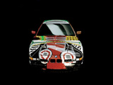 Pictures of BMW 850 CSi Art Car by David Hockney (E31) 1995