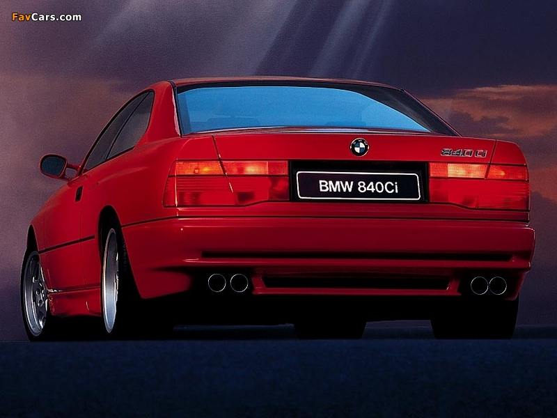 Wallpapers of BMW 840Ci (E31) 1993–99 (800 x 600)