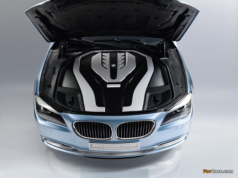 Bmw 7 series activehybrid concept xray  № 2383910 без смс