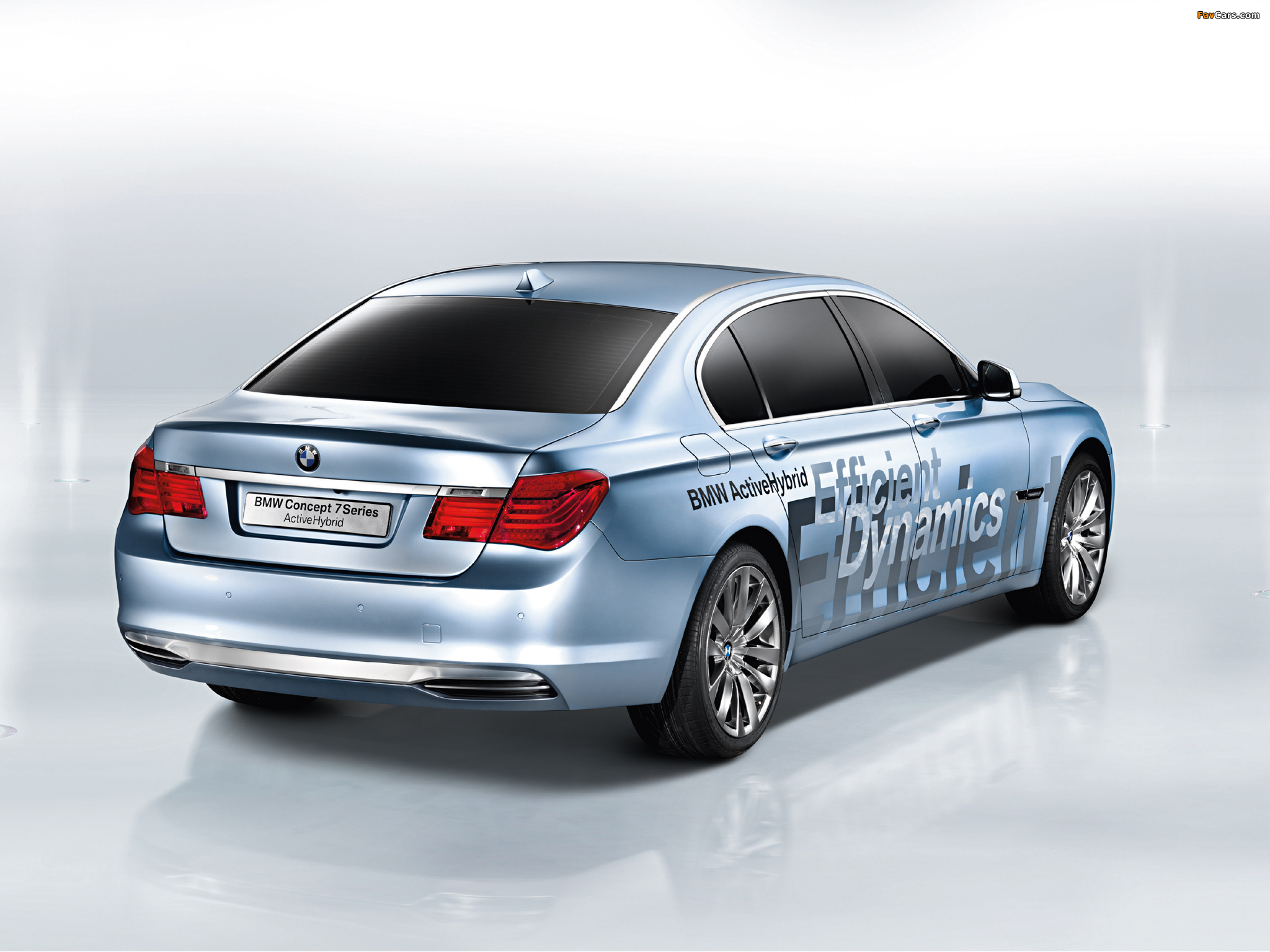 Bmw 7 series rear angle  № 3044723  скачать