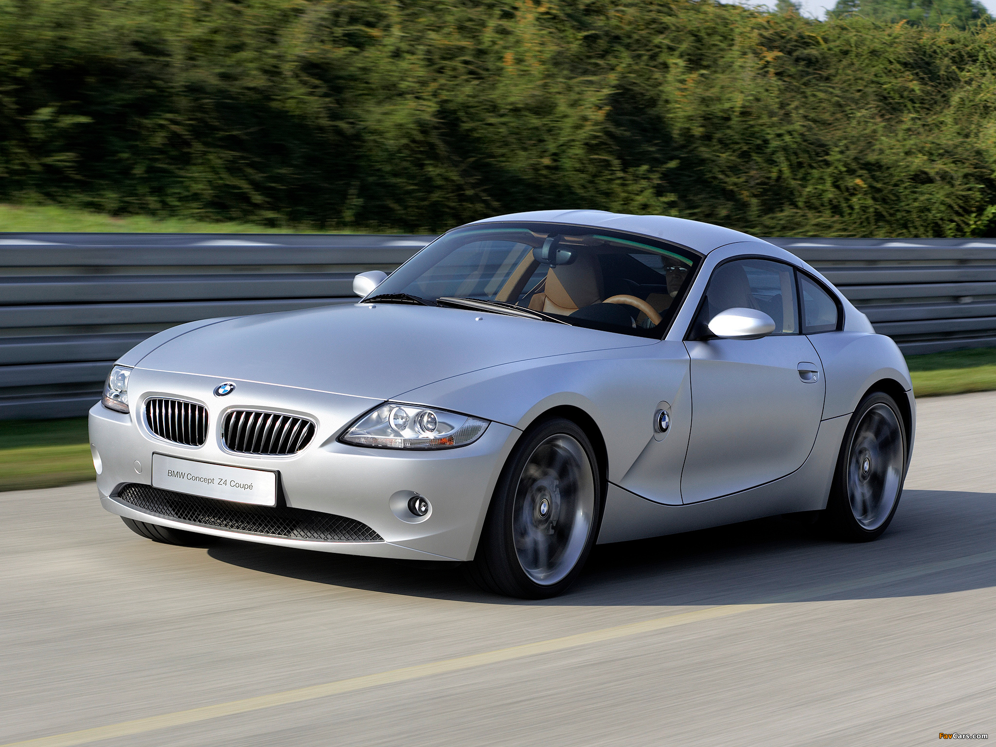 Wallpapers of BMW Z4 Coupe Concept (E85) 2005 (2048 x 1536)