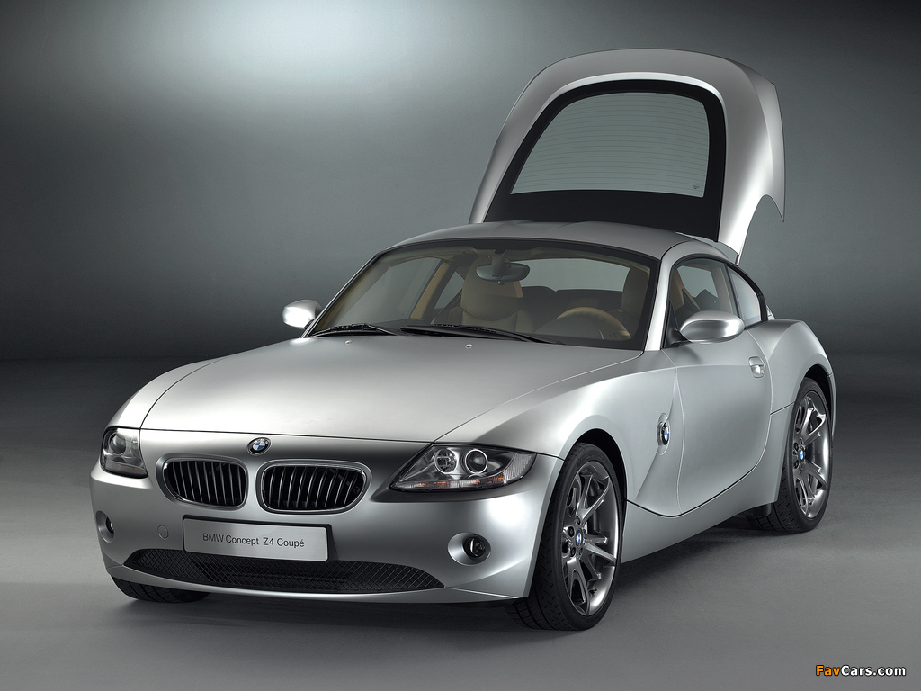 Wallpapers Of Bmw Z4 Coupe Concept E85 2005 1024x768