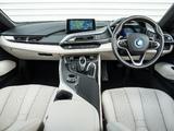 BMW i8 UK-spec 2014 images