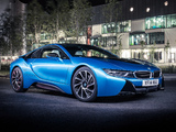 BMW i8 UK-spec 2014 wallpapers