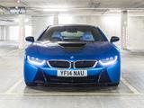 Images of BMW i8 UK-spec 2014