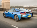 Pictures of BMW i8 UK-spec 2014