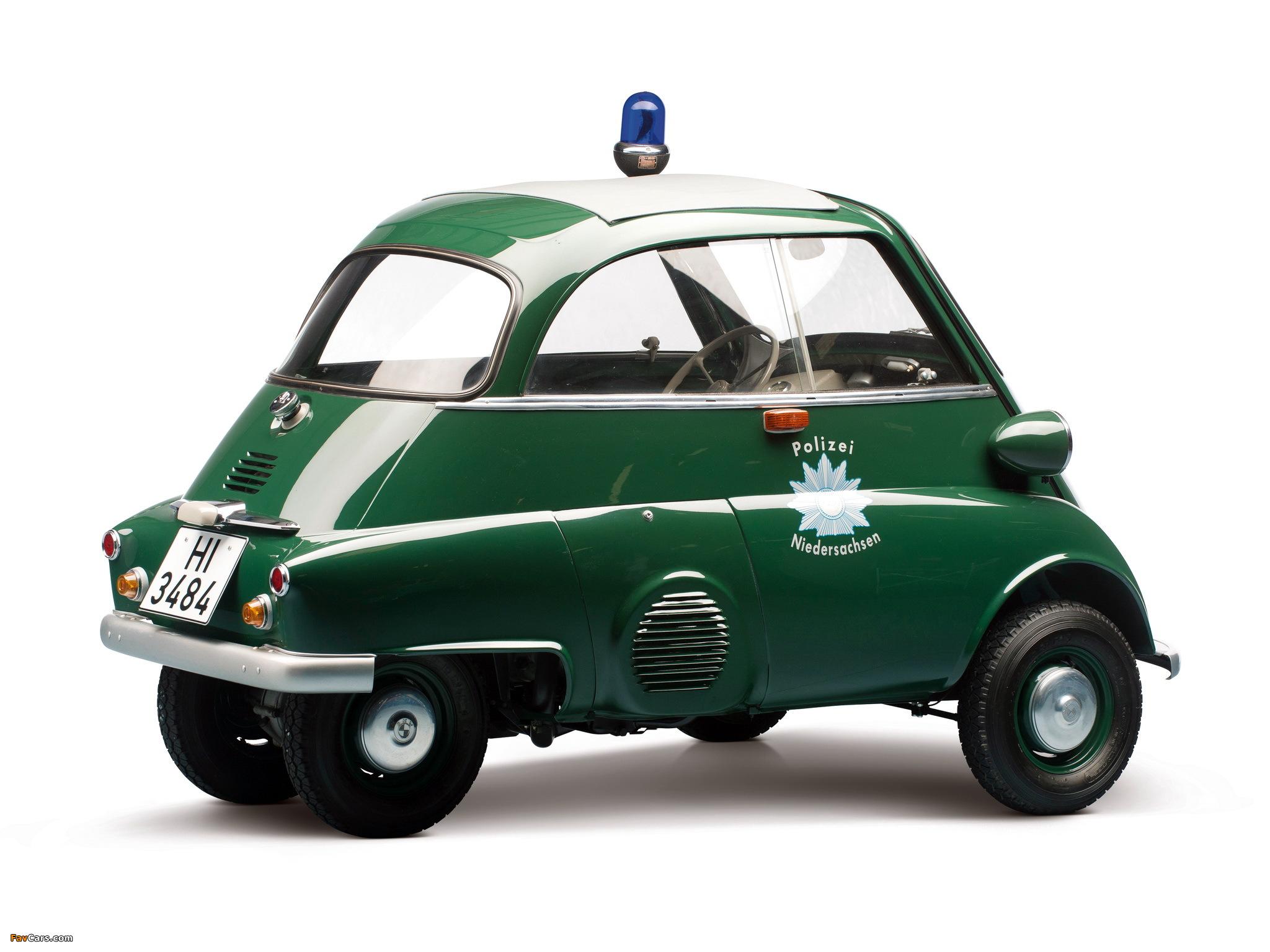 Bmw Isetta 300 Polizei 1958 62 Photos 2048x1536