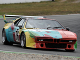 BMW M1 Group 4 Rennversion Art Car by Andy Warhol (E26) 1979 photos