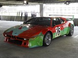 Photos of BMW M1 Group 4 Rennversion Art Car by Andy Warhol (E26) 1979