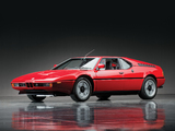 Pictures of BMW M1 (E26) 1978–81