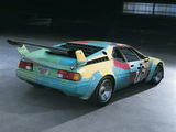 Pictures of BMW M1 Group 4 Rennversion Art Car by Andy Warhol (E26) 1979