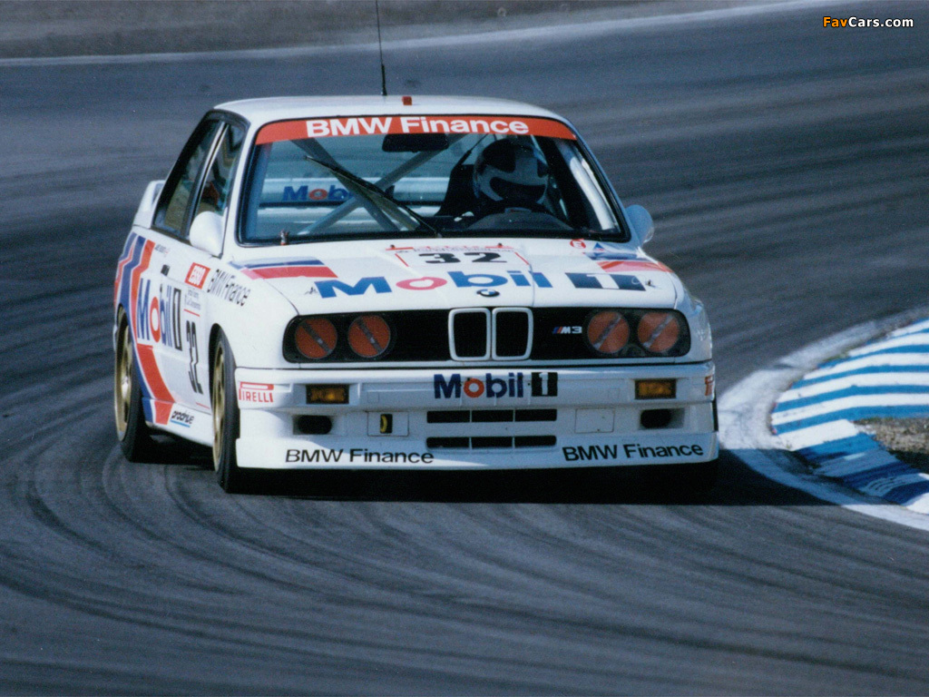 Bmw M3 E30 >> BMW M3 BTCC (E30) 1987–93 wallpapers (1024x768)