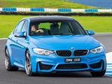 BMW M3 AU-spec (F80) 2014 pictures