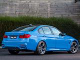 BMW M3 AU-spec (F80) 2014 wallpapers